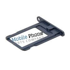 Apple iPhone 5S Sim Tray - Black