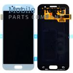 Genuine Samsung Galaxy A5 2017 A520 LCD + Digitiser Blue - Part No: GH97-19733C