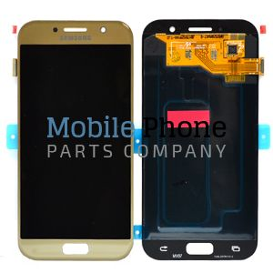 Genuine Samsung Galaxy A5 2017 A520 LCD + Digitiser Gold - Part No: GH97-19733B
