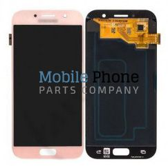 Genuine Samsung Galaxy A5 2017 A520F LCD + Digitiser Pink - Part No: GH97-19733D