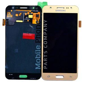 Genuine Samsung Galaxy J5 2015 J500F LCD + Digitiser Gold - Part No: GH97-17667C