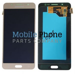 Genuine Samsung Galaxy J5 2016 J510F LCD + Digitiser Gold - Part No: GH97-18792A