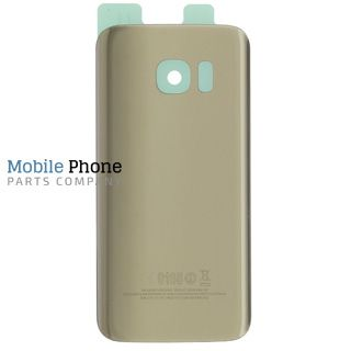 Genuine Samsung Galaxy S7 G930F Battery Back Cover Gold - Part No: GH82-11384C
