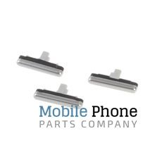 Genuine Samsung Galaxy S7 G930F External Button Set White - Part No: GH98-38918B