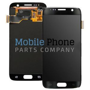 Genuine Samsung Galaxy S7 G930F LCD + Digitiser Black - Part No: GH97-18523A