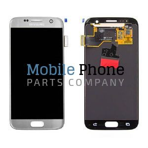 Genuine Samsung Galaxy S7 G930F LCD + Digitiser Silver - Part No: GH97-18523B