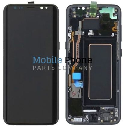 Genuine Samsung Galaxy   S8 G950F LCD + Digitiser Black - Part No: GH97-20457A