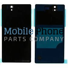 Genuine Sony Xperia Z L36H Battery Back Cover Black - Part No: 1272-2162