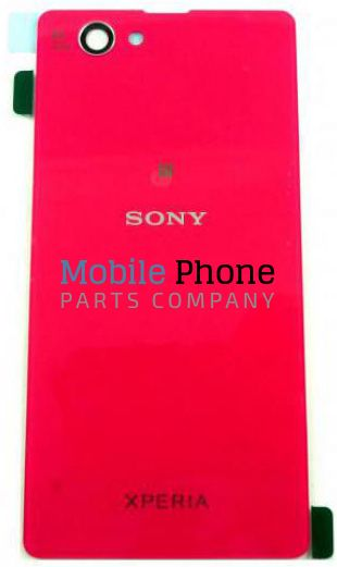 Genuine Sony Xperia Z1 Compact D5503 Battery Back Cover Red - Part No: 1276-8473