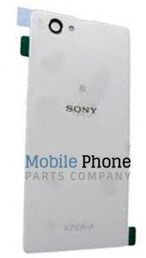 Genuine Sony Xperia Z1 Compact D5503 Battery Back Cover White - Part No: 1276-8465