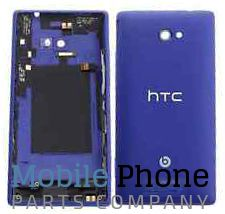 HTC 8X Back Chassis Blue